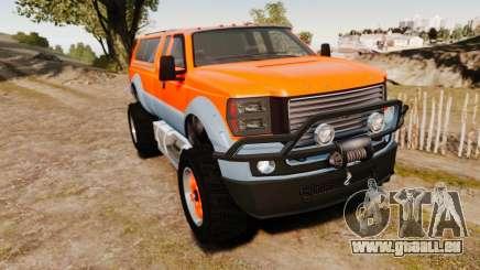 GTA V Vapid Sandking XL wheels v2 pour GTA 4