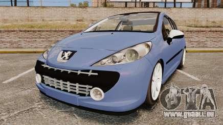 Peugeot 207 RC für GTA 4