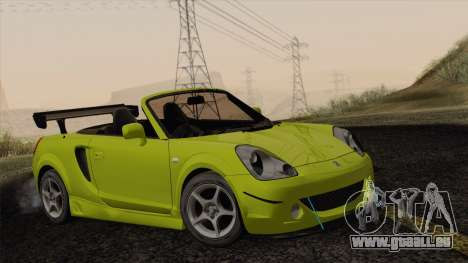 Toyota MR-S 2002 pour GTA San Andreas