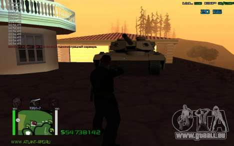 C-HUD by Bodie pour GTA San Andreas