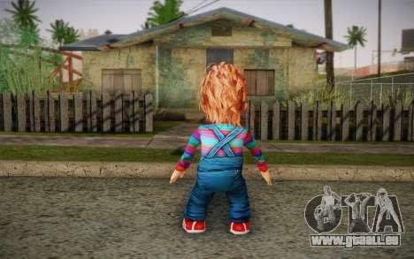 Chucky pour GTA San Andreas deuxième écran