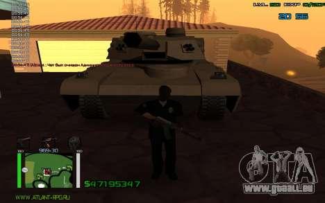 C-HUD by Bodie pour GTA San Andreas troisième écran
