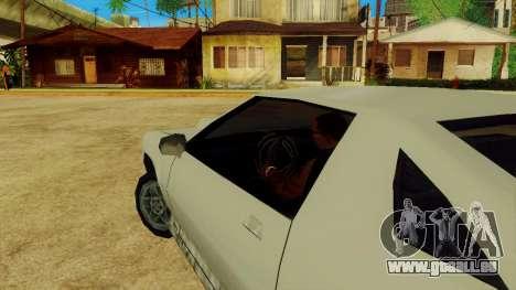 La rotation de la roue pour les voitures standar pour GTA San Andreas cinquième écran