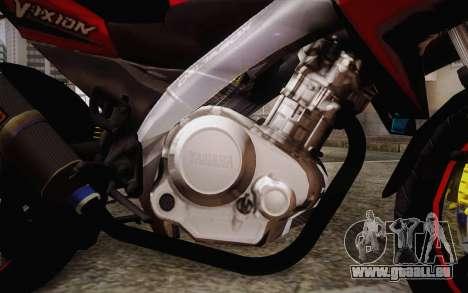 Yamaha V-Ixion 2014 pour GTA San Andreas vue de droite