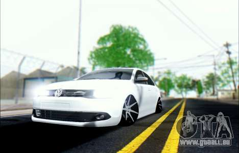 Volkswagen Jetta 1.4 Comfortline МТ pour GTA San Andreas vue arrière