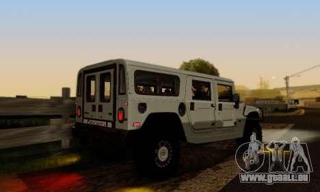 Hummer H1 Alpha pour GTA San Andreas vue de côté