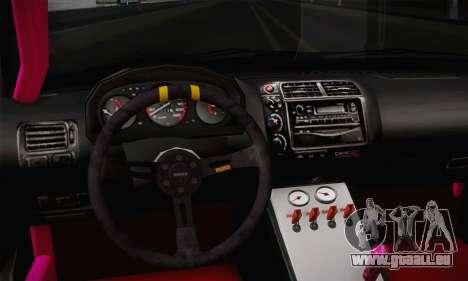 Honda Civic EK9 2000 Hellflush für GTA San Andreas rechten Ansicht
