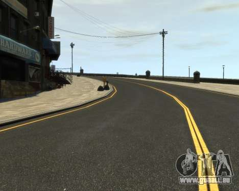 New Roads  (Textures - HD) für GTA 4 dritte Screenshot