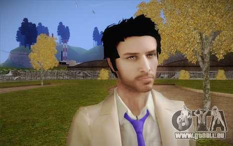 Castiel from Supernatural pour GTA San Andreas troisième écran