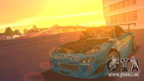 Mazda RX7 FD3S RE Amamiya G-Reddy pour GTA Vice City
