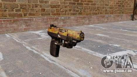 Pistolet FN Cinq à sept LAM Automne pour GTA 4