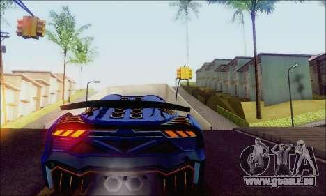 Zentorno GTA 5 V.1 für GTA San Andreas rechten Ansicht