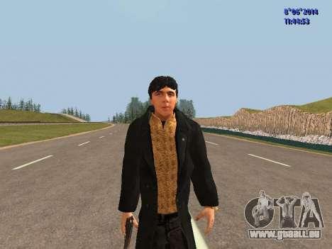 Danila du film Frère pour GTA San Andreas