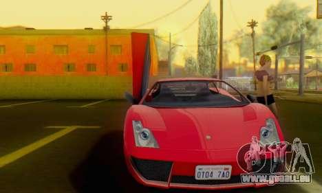 Pegassi Vacca pour GTA San Andreas laissé vue