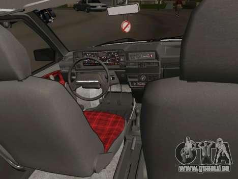 VAZ-21093 pour GTA San Andreas vue intérieure