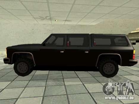 SWAT Original Cruiser pour GTA San Andreas laissé vue