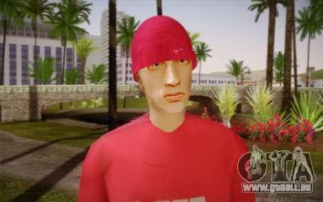 Eminem pour GTA San Andreas troisième écran