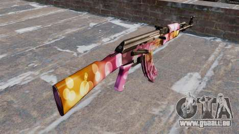 Die AK-47 Punkte für GTA 4 Sekunden Bildschirm