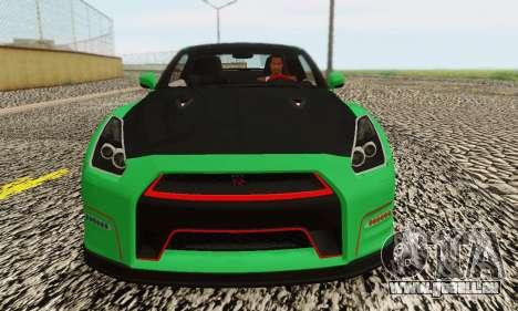 Nissan GTR Streets Edition für GTA San Andreas rechten Ansicht