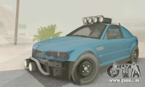 BMW M3 E46 Offroad Version für GTA San Andreas