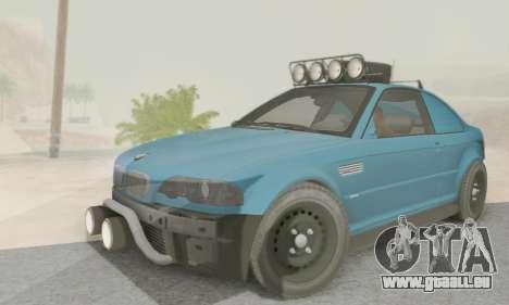 BMW M3 E46 Offroad Version pour GTA San Andreas