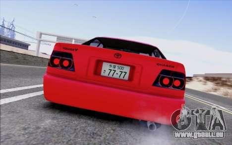 Toyota Chaser Tourer V pour GTA San Andreas vue arrière