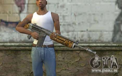 R91 Assault Rifle für GTA San Andreas dritten Screenshot