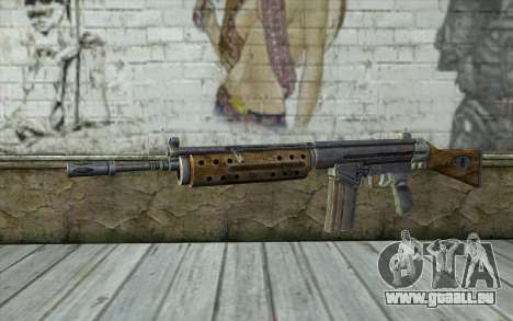R91 Assault Rifle pour GTA San Andreas