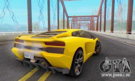 Pegassi Vacca für GTA San Andreas Unteransicht