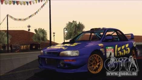 Subaru Impreza 22B STi 1998 pour GTA San Andreas moteur