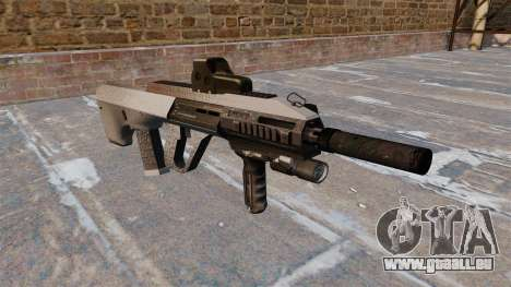 Machine Steyr AUG A3 Chrome pour GTA 4