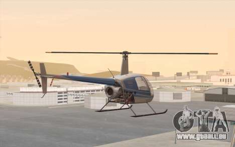 Robinson R22 für GTA San Andreas linke Ansicht