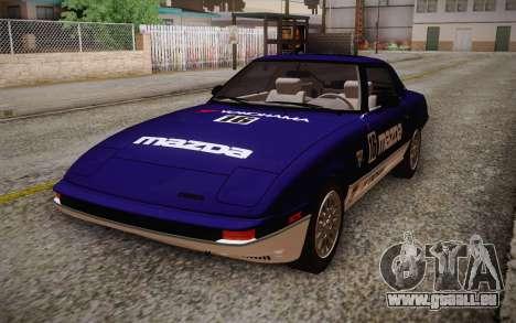 Mazda RX-7 GSL-SE 1985 HQLM für GTA San Andreas rechten Ansicht