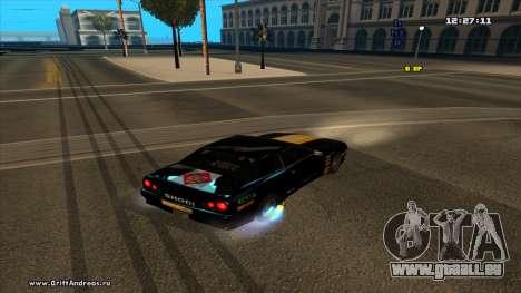 Elegy-Hotring pour GTA San Andreas laissé vue