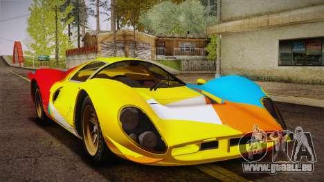 Ferrari 330 P4 1967 IVF für GTA San Andreas