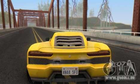 Pegassi Vacca für GTA San Andreas Innen