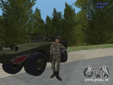 USSR Special Forces für GTA San Andreas sechsten Screenshot