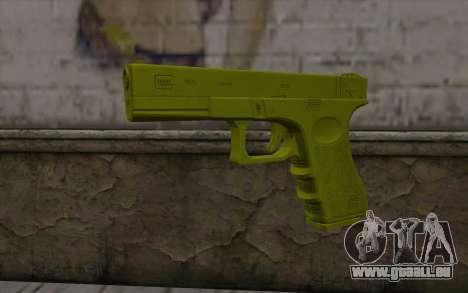 Golden Glock 18C für GTA San Andreas
