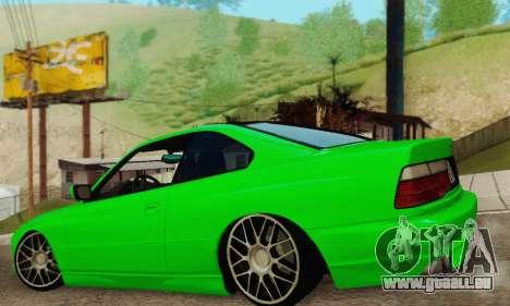 BMW 850CSI 1996 pour GTA San Andreas laissé vue