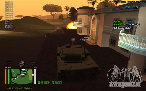 C-HUD by Bodie pour GTA San Andreas deuxième écran