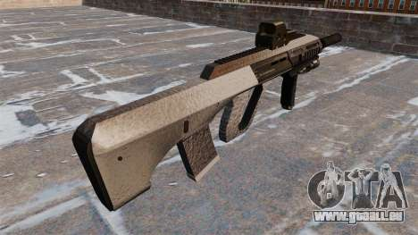Machine Steyr AUG A3 Chrome pour GTA 4 secondes d'écran