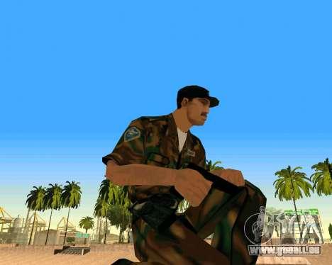 Glock из Cinématique pour GTA San Andreas deuxième écran
