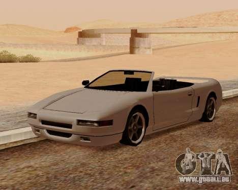 Infernus Convertible pour GTA San Andreas