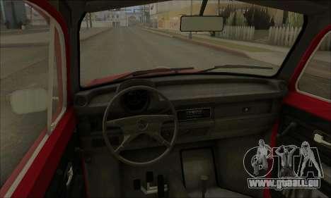 1973 Volkswagen Beetle pour GTA San Andreas vue de côté
