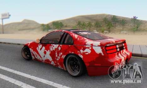 Nissan 300ZX Fairlady für GTA San Andreas Seitenansicht