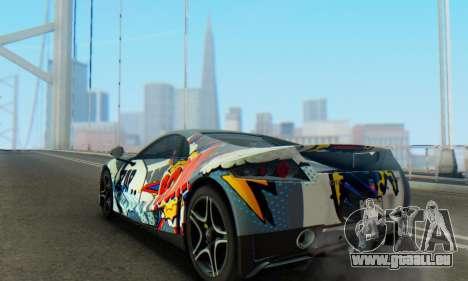GTA Spano 2014 IVF pour GTA San Andreas salon