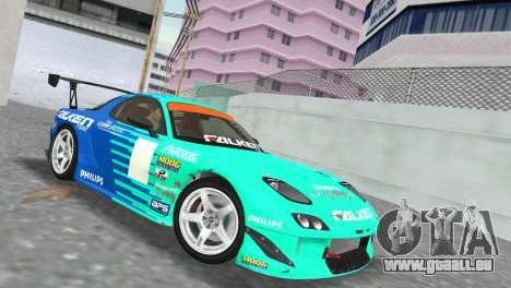 Mazda RX7 FD3S RE Amamiya Falken pour GTA Vice City