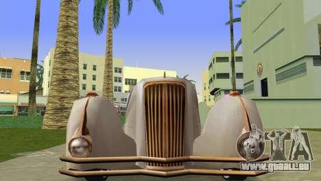 Cadillac Series 37-90 1937 V16 Cabriolet für GTA Vice City rechten Ansicht