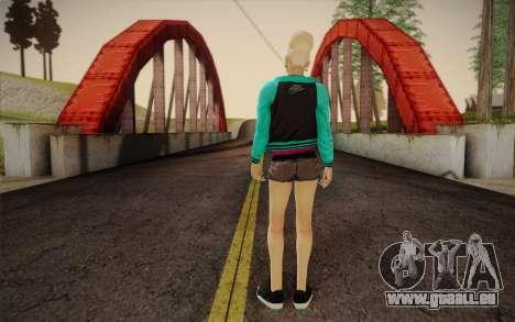 Jolie fille pour GTA San Andreas deuxième écran