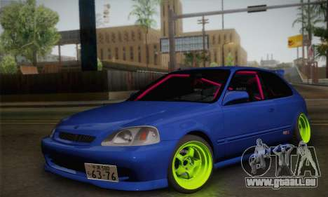 Honda Civic EK9 2000 Hellflush pour GTA San Andreas